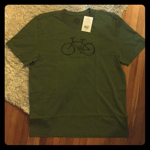 NWT Life Is Good Crusher Tee Men's L